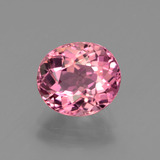 thumb image of 2.7ct Oval Facet Pink Tourmaline (ID: 441192)