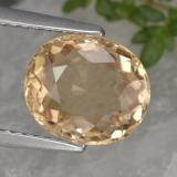 thumb image of 2.4ct Oval Facet Yellow Tourmaline (ID: 441194)