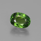 thumb image of 2ct Oval Facet Green Tourmaline (ID: 441229)