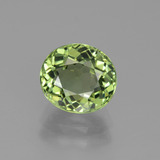 thumb image of 2.5ct Oval Facet Green Tourmaline (ID: 441232)