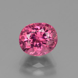 thumb image of 2.8ct Oval Facet Pink Tourmaline (ID: 441260)
