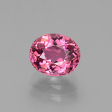 thumb image of 2.1ct Oval Facet Pink Tourmaline (ID: 441263)