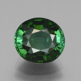 thumb image of 3.8ct Oval Facet Green Tourmaline (ID: 441275)