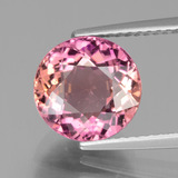 thumb image of 3.6ct Round Facet Bi-color Tourmaline (ID: 441277)