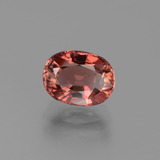 thumb image of 1.7ct Oval Facet Rose Tourmaline (ID: 444079)