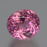 thumb image of 6.2ct Oval Portuguese-Cut Pink Tourmaline (ID: 446503)