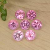 thumb image of 0.9ct Round Facet Pink Tourmaline (ID: 469395)