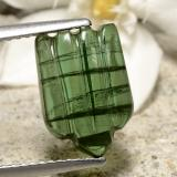 thumb image of 3.7ct Carved Fruit Cabochon Green Tourmaline (ID: 475312)