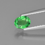 thumb image of 0.4ct Oval Facet Green Tsavorite Garnet (ID: 373944)