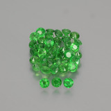 thumb image of 2.9ct Round Facet Green Tsavorite Garnet (ID: 389842)