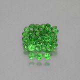 thumb image of 2.9ct Round Facet Green Tsavorite Garnet (ID: 389912)
