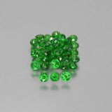 thumb image of 3ct Round Facet Green Tsavorite Garnet (ID: 389917)