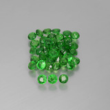 thumb image of 2.8ct Round Facet Green Tsavorite Garnet (ID: 389921)
