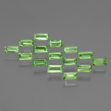 thumb image of 0.1ct Baguette Facet Lively Green Tsavorite Garnet (ID: 393243)