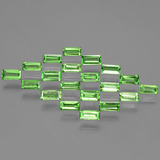thumb image of 0.1ct Baguette Facet Lively Green Tsavorite Garnet (ID: 393253)