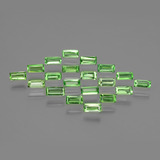 thumb image of 2ct Baguette Facet Green Tsavorite Garnet (ID: 393359)