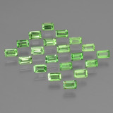 thumb image of 0.1ct Baguette Facet Green Tsavorite Garnet (ID: 393361)