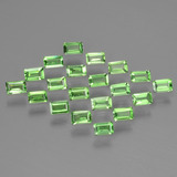 thumb image of 1.3ct Baguette Facet Green Tsavorite Garnet (ID: 393364)