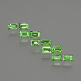 thumb image of 1.2ct Baguette Facet Green Tsavorite Garnet (ID: 393521)