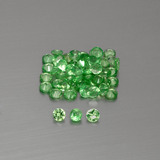 thumb image of 1.5ct Diamond-Cut Green Tsavorite Garnet (ID: 396107)