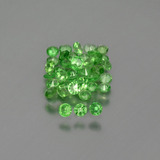 thumb image of 1.3ct Diamond-Cut Green Tsavorite Garnet (ID: 397619)