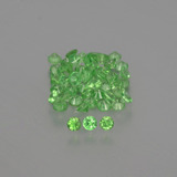 thumb image of 2.5ct Diamond-Cut Green Tsavorite Garnet (ID: 398205)