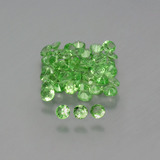 thumb image of 2ct Diamond-Cut Green Tsavorite Garnet (ID: 398589)