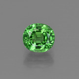 thumb image of 1.4ct Oval Facet Green Tsavorite Garnet (ID: 415334)
