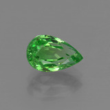 thumb image of 1.5ct Pear Facet Green Tsavorite Garnet (ID: 415340)