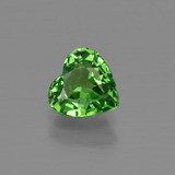 thumb image of 1.3ct Heart Facet Green Tsavorite Garnet (ID: 415342)