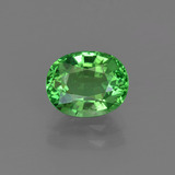 thumb image of 1.6ct Oval Facet Green Tsavorite Garnet (ID: 415343)
