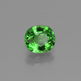 1.00 ct Ovale facette Medium Green Grenat Tsavorite gemme 6.15 mm x 5.6 mm (Photo B)