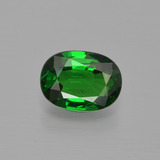 thumb image of 1.1ct Oval Facet Green Tsavorite Garnet (ID: 415693)