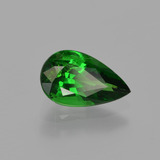 1.18 ct Pear Facet Green Tsavorite Garnet Gem 8.76 mm x 5.2 mm (Photo B)