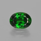 thumb image of 1.4ct Oval Facet Green Tsavorite Garnet (ID: 415738)