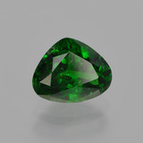 1.31 ct Sfaccettatura a pera Verde scuro Granato tsavorite Gem 7.58 mm x 6.1 mm (Photo B)