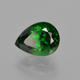 1.65 ct Pear Facet Green Tsavorite Garnet Gem 8.20 mm x 6.1 mm (Photo B)