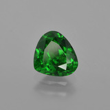 1.06 ct Pear Facet Intense Green Tsavorite Garnet Gem 6.86 mm x 6.1 mm (Photo B)
