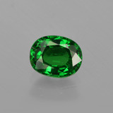 thumb image of 1ct Oval Facet Green Tsavorite Garnet (ID: 415865)