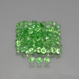 thumb image of 4ct Diamond-Cut Green Tsavorite Garnet (ID: 451635)