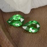 thumb image of 0.8ct Pear Facet Green Tsavorite Garnet (ID: 467941)