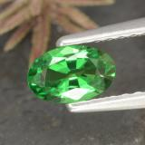 thumb image of 0.4ct Oval Facet Green Tsavorite Garnet (ID: 468850)