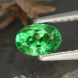 thumb image of 0.5ct Oval Facet Green Tsavorite Garnet (ID: 468857)