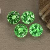 thumb image of 0.2ct Diamond-Cut Lively Green Tsavorite Garnet (ID: 473800)
