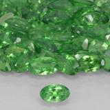 thumb image of 0.2ct Oval Facet Green Tsavorite Garnet (ID: 503399)
