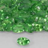 0.23 ct Oval Facet Electric Green Tsavorite Garnet Gem 4.97 mm x 3 mm (Photo B)