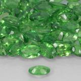 0.23 ct Oval Facet Electric Green Tsavorite Garnet Gem 4.97 mm x 3 mm (Photo C)