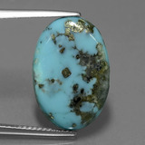 thumb image of 8.3ct Oval Cabochon Blue Turquoise (ID: 444454)