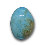thumb image of 6.3ct Fancy Cabochon Blue Turquoise (ID: 458425)