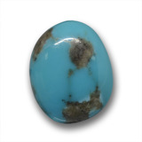 thumb image of 8.3ct Fancy Cabochon Blue Turquoise (ID: 458428)